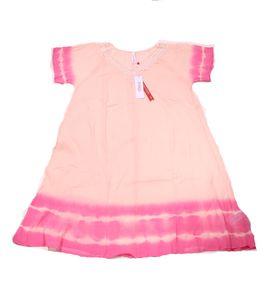 sheego Kleid sommerliches Damen Jersey-Kleid Große Größen Rosa – Bild 1