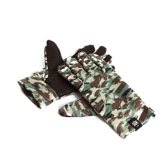 SÛR Winter-Handschuhe trendige Snowboard Hand-Schuhe mit Noppen Camouflage