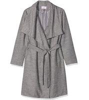 sheego Mantel Jacke moderner Damen Winter-Mantel Große Größen Grau