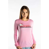 Converse HELLO KITTY TEE Damen T-Shirt Pink