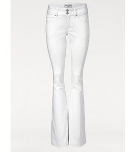 rick cardona Hose trendige Damen Schlag-Jeans Weiß – Bild 3