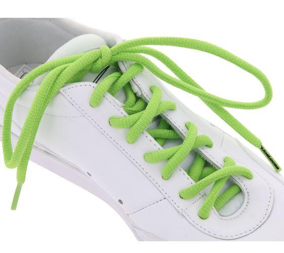 TubeLaces shoelaces greasy shoe shoelaces green