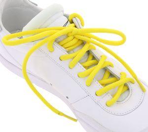 TubeLaces Schnürbänder farbenfrohe Schuh Schnürsenkel Gelb