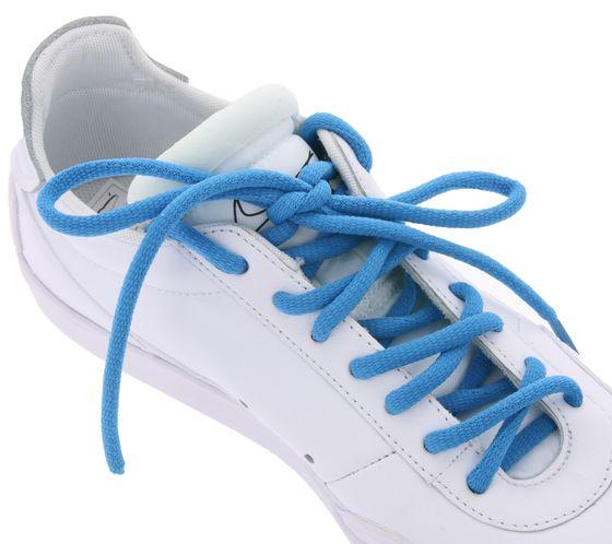 TubeLaces Schuhe Schnürsenkel top angesagte Schuhband Blau