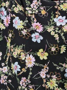 B.C. Best Connections Bluse Druckbluse verspielte Damen Cut-Outs-Bluse mit Muster Bunt – Bild 2