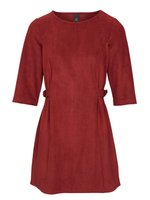 heine Shirt Long-Shirt weiches Damen 3/4-Arm-Shirt mit Schnalle Große Größen Rot