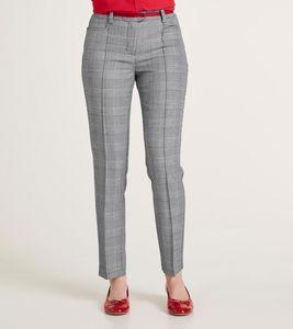 ashley brooke Hose Anzugs-Hose moderne Damen Business-Hose Grau – Bild 1