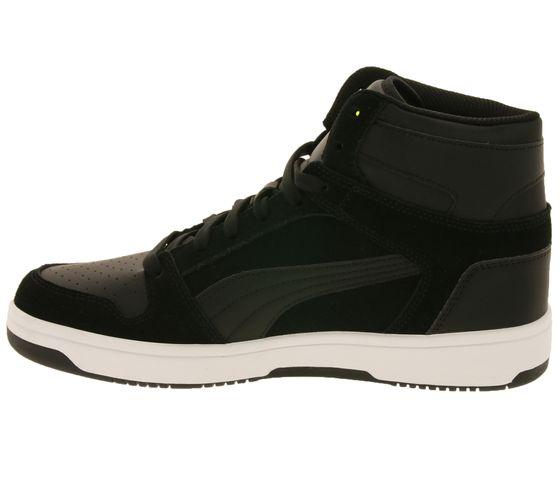 PUMA Shoes Trendy Men's High Top Sneakers Rebound LayUp SD Black