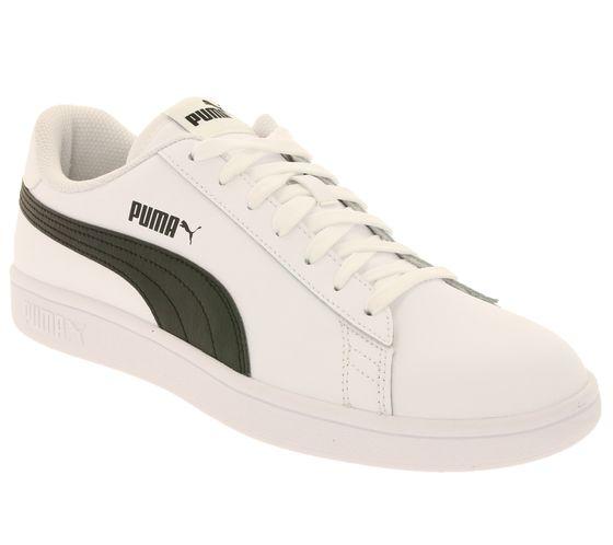 PUMA Shoes Classic Men's Low Top Sneaker Smash v2 L White