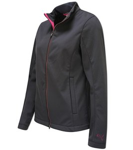 PUMA Trainings-Jacke wärmende Damen Golf Wind-Jacke Anthrazit