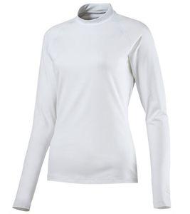 PUMA Sweater klassischer Damen Sport-Pullover Baselayer Weiß