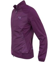 PUMA Wind-Jacke coole Damen Golf Trainings-Jacke Tech Jacket Violett