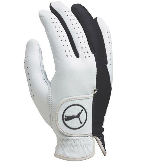PUMA Sport Handschuhe atmungsaktive Herren Golf-Handschuhe für die rechte Hand Weiß