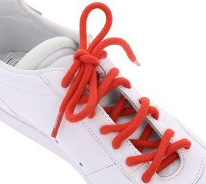 TubeLaces Schuhe Schnürsenkel zeitlose Schnürbänder Love Rot