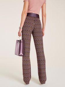 rick cardona Hose Jersey-Hose schicke Damen Druck-Hose mit Gummizug Große Größen Bunt – Bild 2