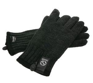BinkaBi Winter-Handschuhe bequeme Ski-Handschuhe Thinsulate Dunkelgrau – Bild 2