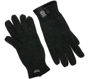 BinkaBi Winter-Handschuhe bequeme Ski-Handschuhe Thinsulate Dunkelgrau – Bild 1