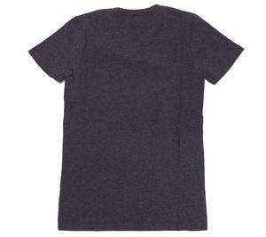 MasterDis T-Shirt stylisches Damen Kurzarm-Shirt V-Neck Deluxe Edition Dunkelgrau – Bild 2