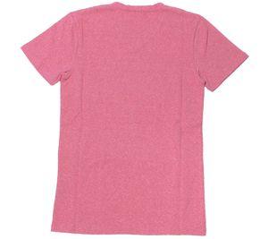 MasterDis T-Shirt farbenfrohes Damen Kurzarm-Shirt V-Neck Deluxe Edition Magenta – Bild 2
