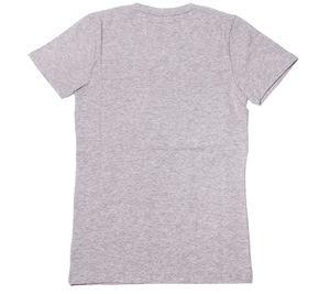 MasterDis T-Shirt basic Damen V-Neck-Shirt Deluxe Edition Hellgrau – Bild 2