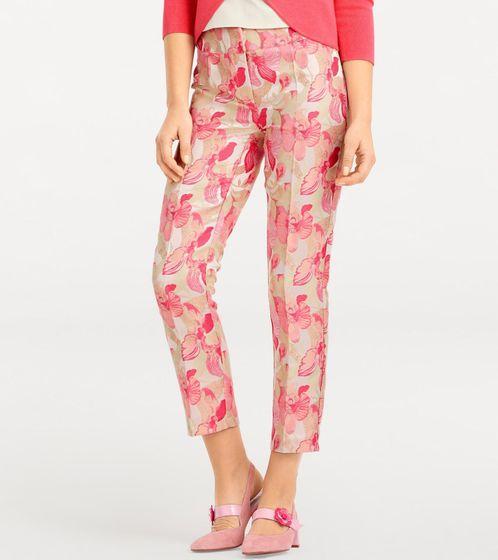 Tamaris Trendy multicolor flower patterned Women Heels