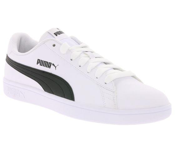 PUMA Schuhe zeitlose Herren Low Top Sneaker Smash v2 Buck Weiß