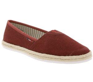 rieker Schuhe Freizeit-Schuhe bequeme Damen Slipper Dunkelrot