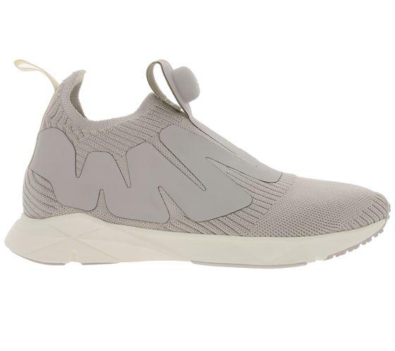 Reebok shoes cool women´s sneakers Pump Supreme Style light gray white