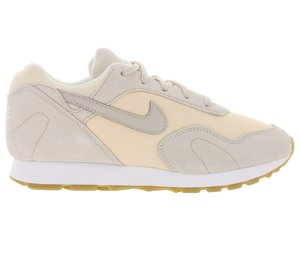 NIKE Sneaker coole Damen Schuhe Outburst W Grau/Peach