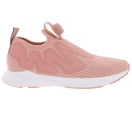 Reebok Sneaker cool women´s shoes Pump Supreme Tape Pink White