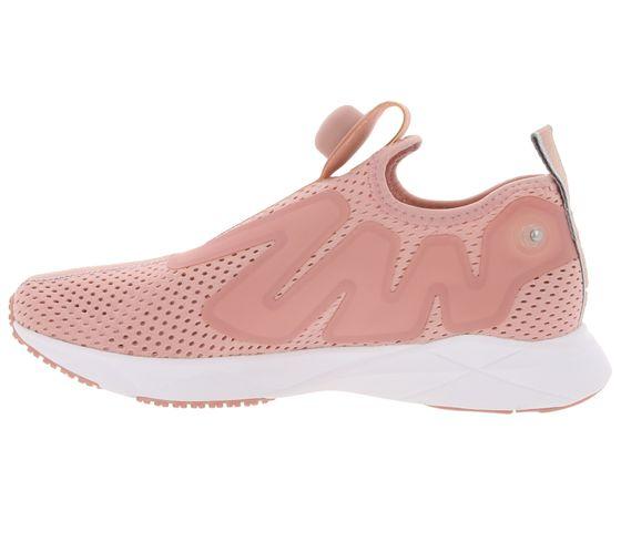 Chaussures femme Reebok Sneaker cool Pump Supreme Tape Rose