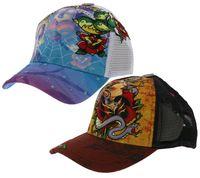 Bullseye Tattoos Biker-Cap angesagte Mütze Basecap Blau oder Schwarz