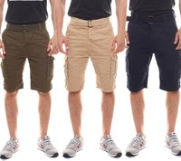 EIGHT2NINE Cargo-Shorts locker fallende Freizeit-Shorts für Herren