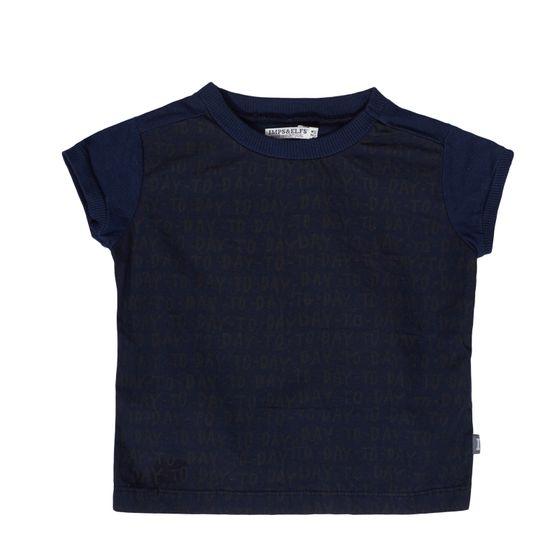 IMPS&ELFS Sommer-Shirt stylisches Kinder T-Shirt mit coolem Print Blau