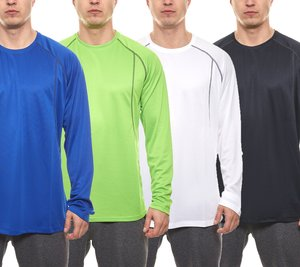 ELEVATE Sport-Shirts funktionelle Herren Langarm-Sweater Whistler