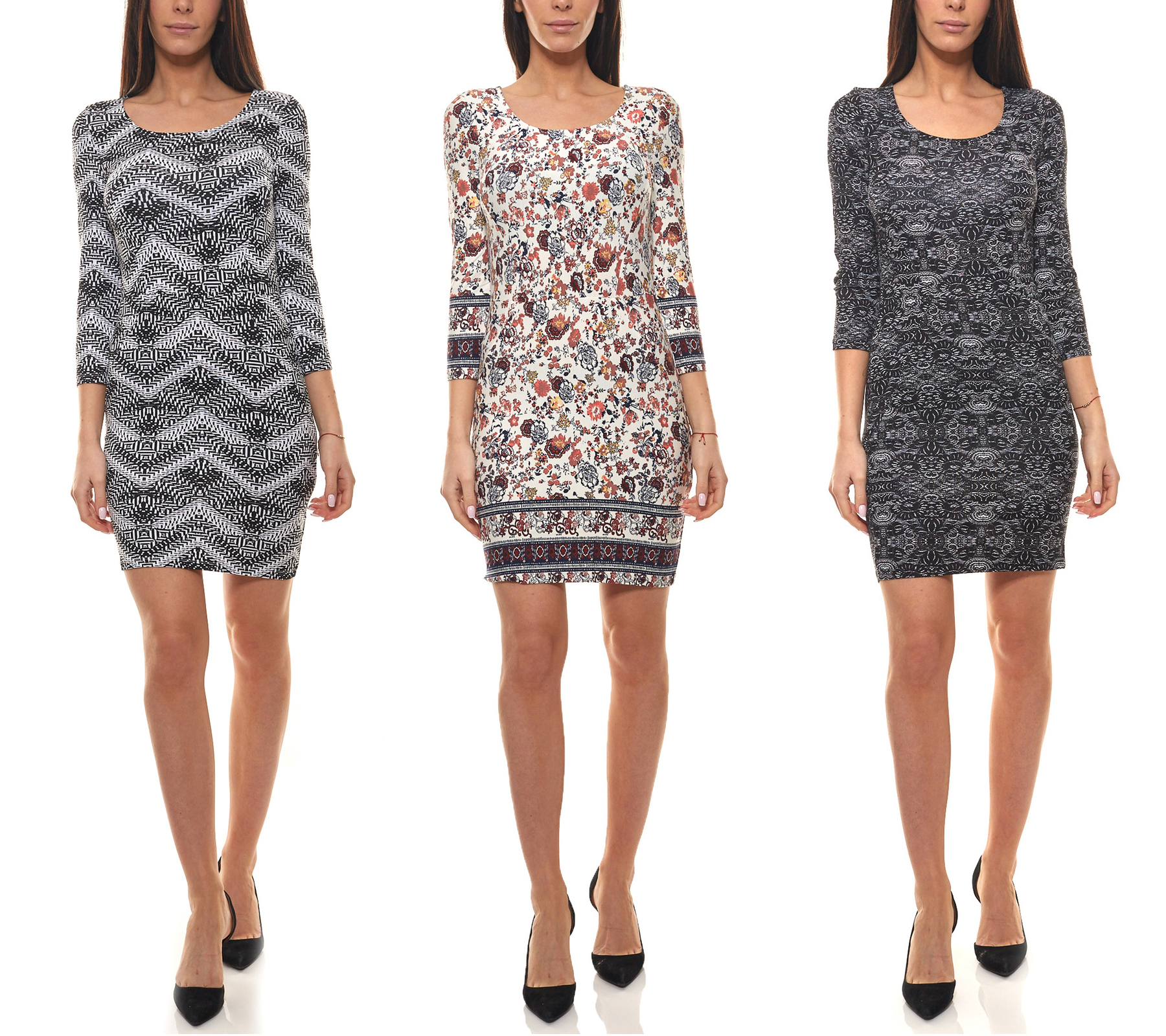 Ajc Kleid Druck Kleider Coole Damen Sommer Kleider Mit Tollen Mustern