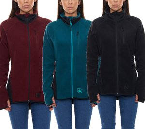 sweet protection Wander-Jacken bequeme Damen Fleece-Jacken Lumberjane