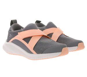 adidas Kinder-Schuhe FortaRun X CF sportliche Turnschuhe adiFIT Grau