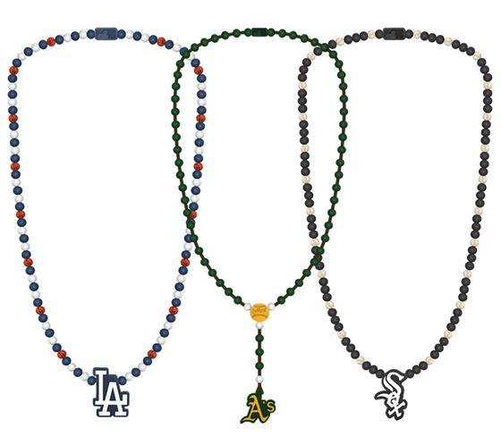 WOOD FELLAS Holz-Ketten trendige Perlen-Ketten mit coolen Anhängern