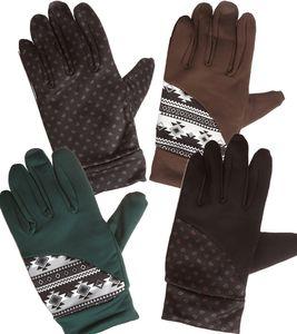 SÛR Hand-Schuhe schicke Ski Winter-Handschuhe mit Noppen Größe L/XL