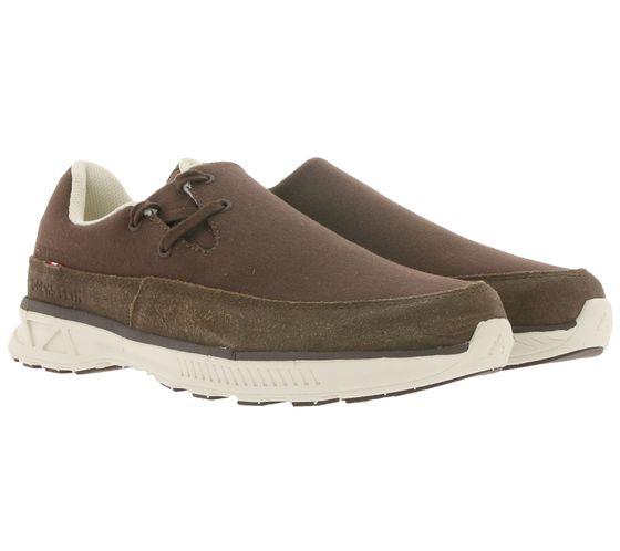 DACHSTEIN Resi Outdoor-Schuhe praktische Echtleder Halb-Schuhe für Damen und Herren Braun
