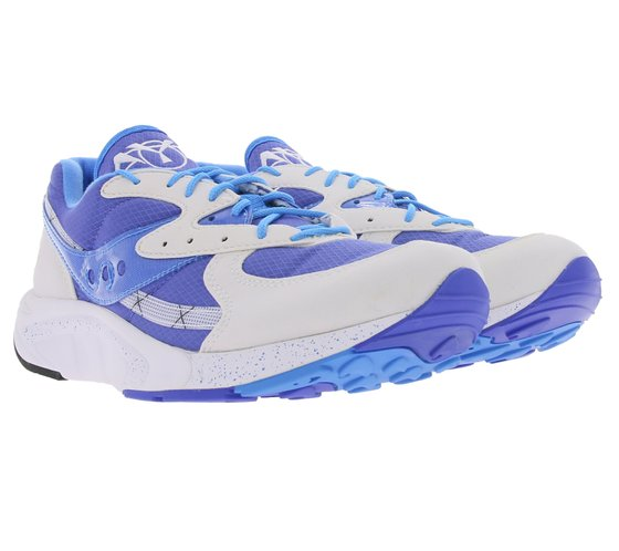 Saucony Aya Laufschuhe begehrte Herren Sneaker mit XT600 Blau/Grau