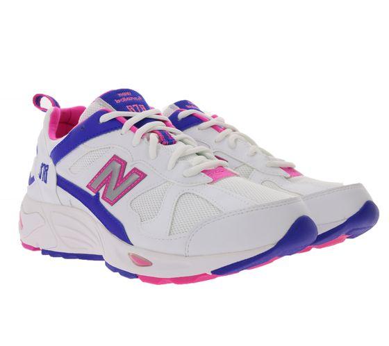 New Balance 878 Sneaker stilvolle Turn-Schuhe mit Ndurance Weiß