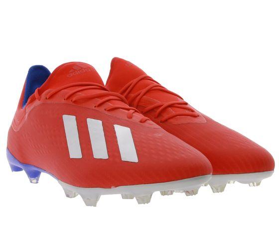 adidas X 18.2 FG Nocken-Schuhe modische Herren Fußball-Schuhe Rot