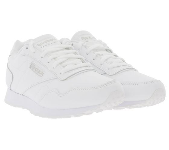REEBOK Royal Glide Sneaker angesagte Damen Echtleder-Schuhe Weiß