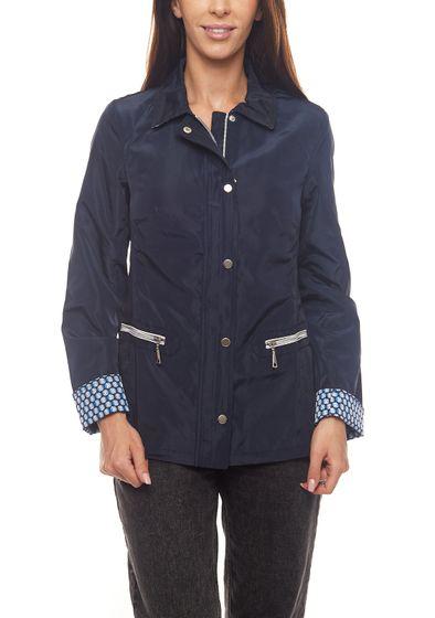 ANNA LARSSEN jacket stylish ladies leisure jacket with high quality seam processing blue