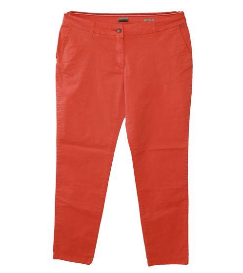 NAPAPIJRI Meridian Alltags-Hose modische Damen Freizeit-Hose mit Fake-Gesäßtaschen Orange
