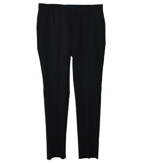 LAB PAL ZILERI Anzug-Hose stylische Damen Stoff-Hose Große Größen Schwarz