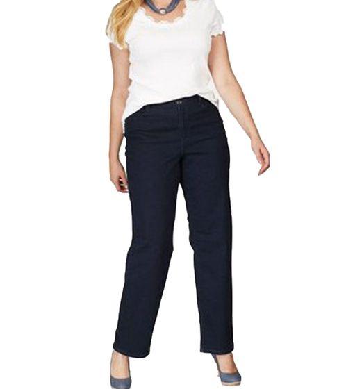 MAC Stretch-Jeans stretchige Damen Denim-Hose im Five-Pocket-Design Blau