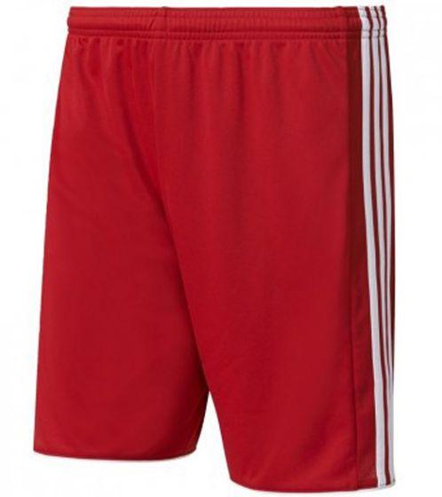 adidas Tastigo 17 Sport-Shorts lässige Herren Trainings-Hose mit climacool Rot